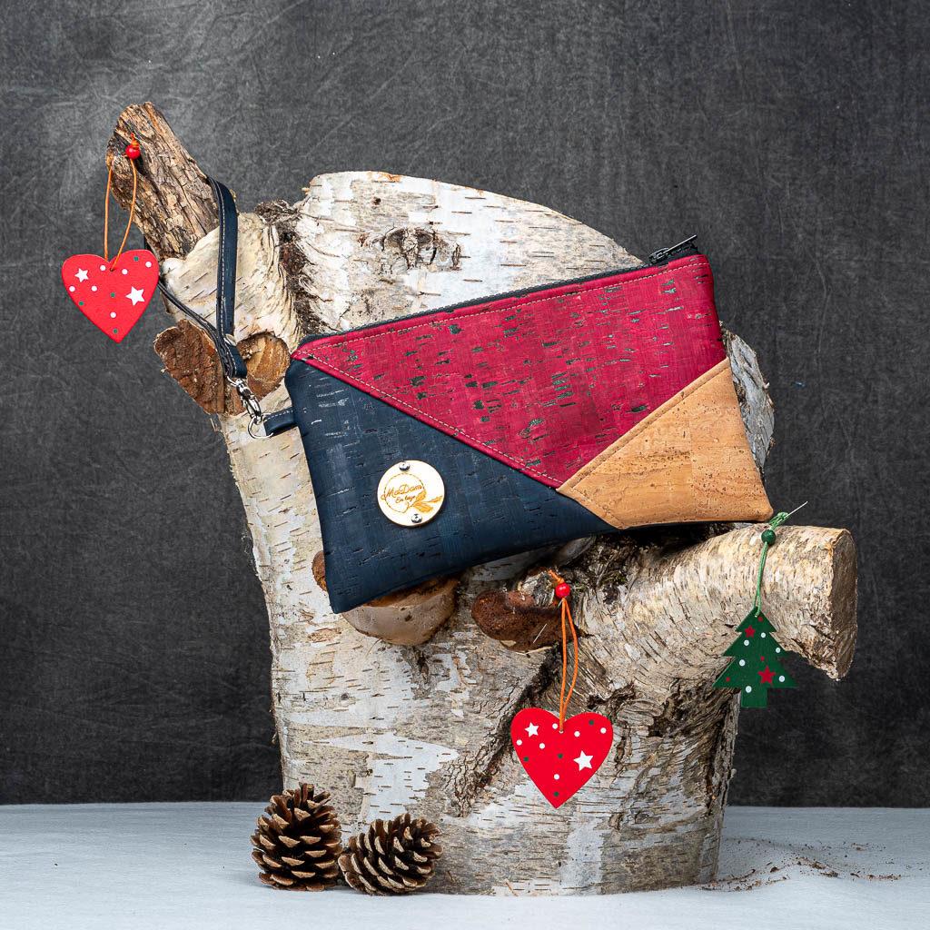 Pochette rouge Ava Noel