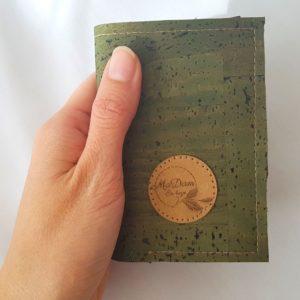 Porte carte Nano vert kaki